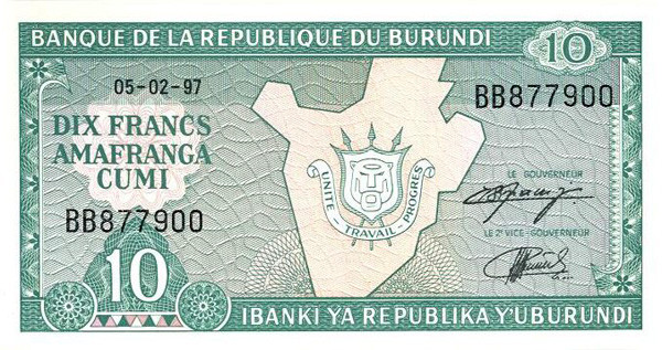 Burundian Franc Bif Definition Mypivots