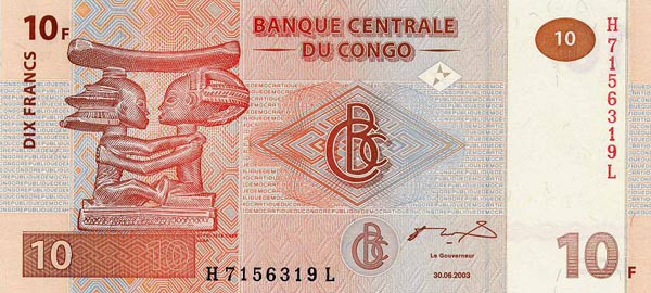congolese franc cdf definition
