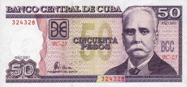 cuban peso cup definition
