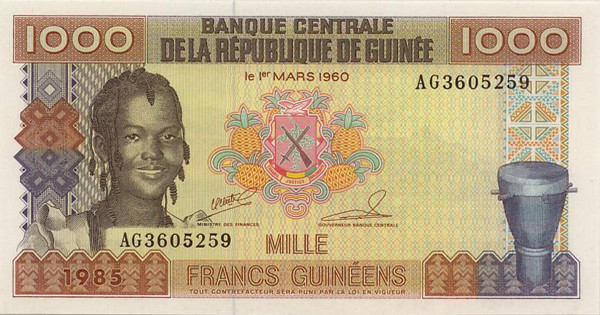 guinean franc gnf definition
