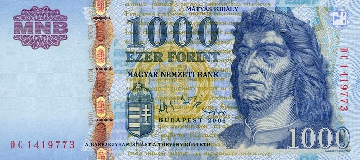 hungarian forint huf definition