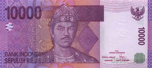 indonesian rupiah idr definition