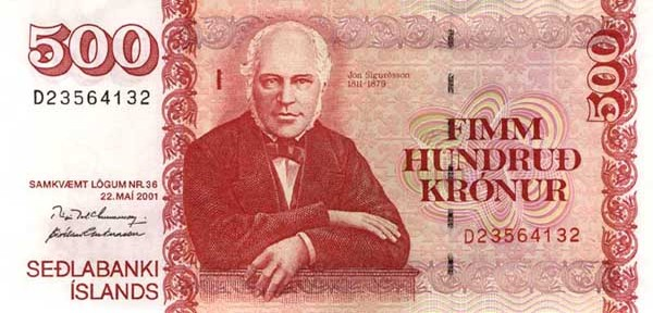 icelandic krona isk definition