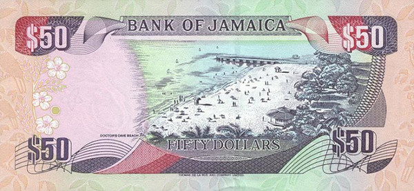Jamaica Denomination 50 Dollars