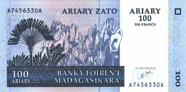 malagasy ariary mga definition