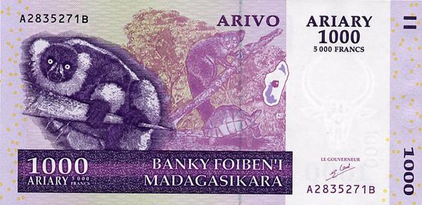 Malagasy ariary