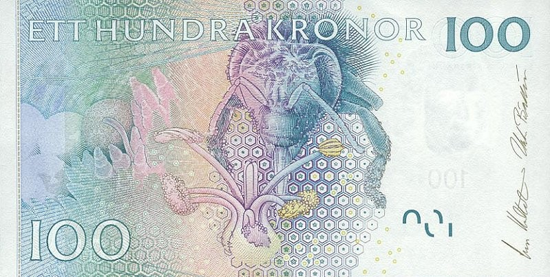 Banknote In Circulation: Sweden