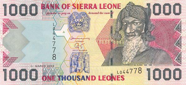 Währung In Sierra Leone 5 Buchstaben