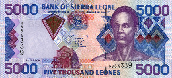 Sierra Leonean Leone SLL Definition   MyPivots
