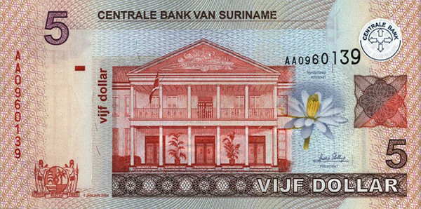 surinamese dollar srd definition
