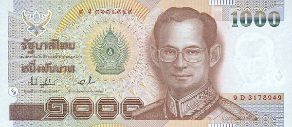 Thai baht forex trading