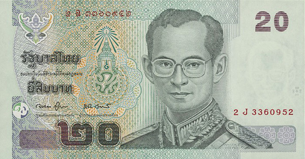 Thb 20 Thai Bahts How Does Thailand Earn More