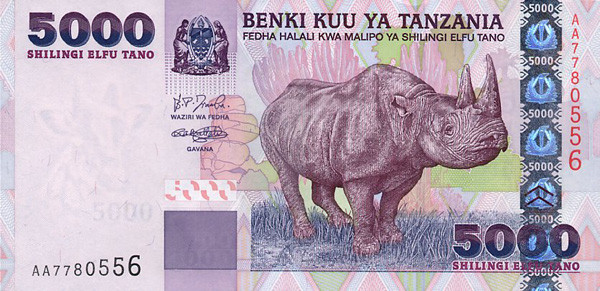 tanzanian shilling tzs definition