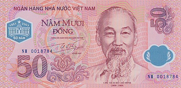 Vietnamese Dong to US Dollar Exchange Rate