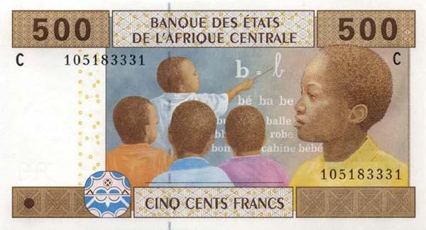 Image result for Gabon Central African CFA franc 2017