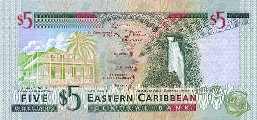 east carribbean dollar xcd definition