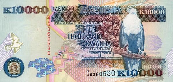 zambian kwacha zmk definition