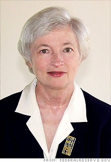Janet Yellen is the president of the Federal Reserve Bank of San Francisco.