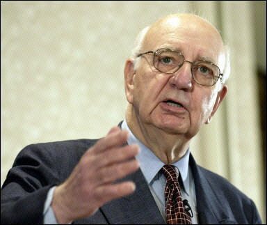 paul volcker Inflation is so low that it's nearly nonexistent now but it most certainly wasn't always that way the planet money team tells the story of former federal reserve chairman paul volcker's wild .