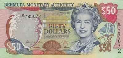 BMD Bermudian dollar 50