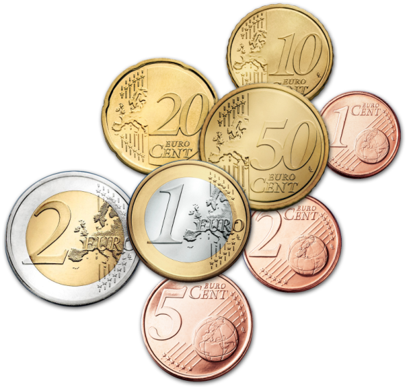 Euro Coins EUR