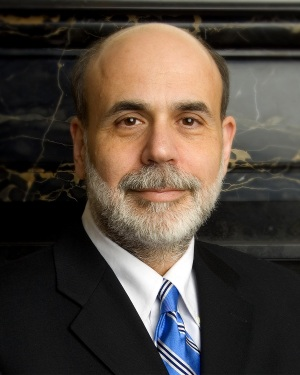 Ben Shalom Bernanke Chairman of the Federal Reserve.