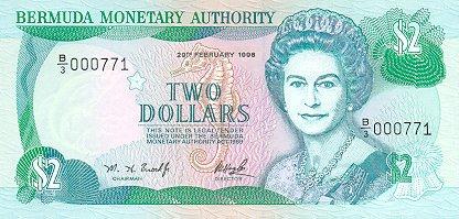 BMD Bermudian dollar 2