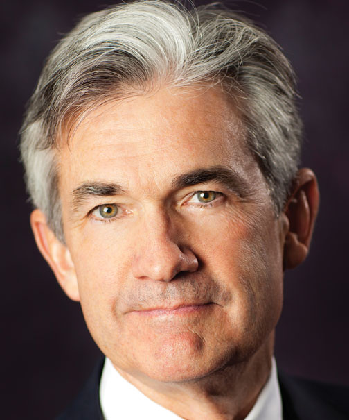 Jerome H. Powell from the Federal Reserve Bank
