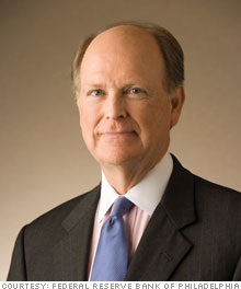 Charles Plosser Federal Reserve Bank of Philadelphia's president and chief executive officer