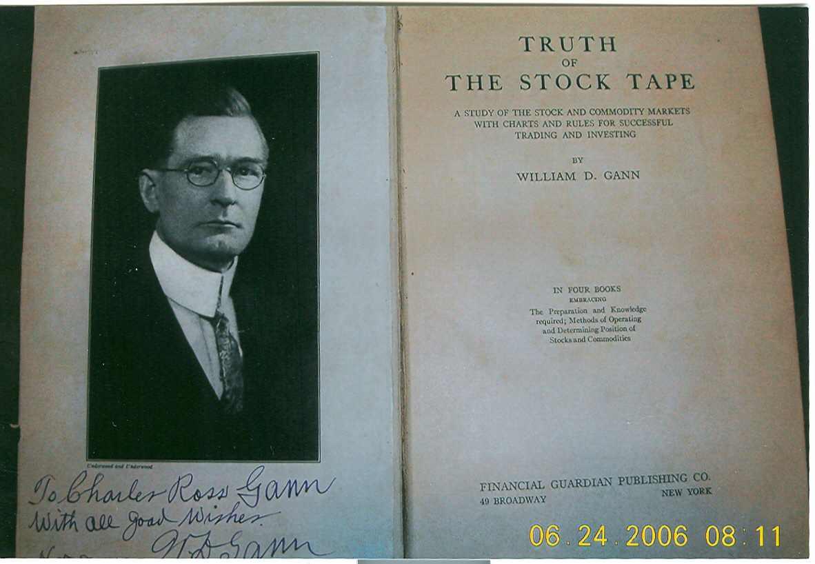 wd gann book